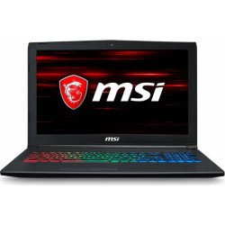 Laptop Gaming MSI GF62 8RD Intel® Core™ i7-8750H 8GB DDR4 128GB SSD + 1TB HDD NVIDIA® GeForce® GTX 1050 Ti 4 GB, Free Dos
