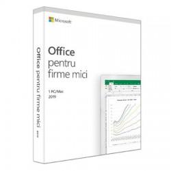 Microsoft Office pentru firme mici 2019, Engleza, 1 utilizator, pentru Windows/Mac