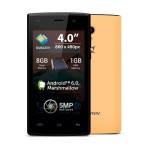 "Telefon mobil Allview A5 Ready, 3G, Dual SIM,display 4"", camera 5 Mpx+0.3 Mpx, 4core, 1GB Ram, 8GB, Android 6.0"