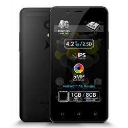 "Telefon Mobil Allview P4 PRO, 4G FDD TDD, Dual SIM, Display 4.2"" HD IPS, camera 5+0.3 Mpx, 4core, 1 GB Ram, 8 GB, Android 7.0, Black"