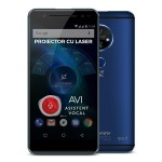 "Telefon mobil Allview X4 Soul Vision,  4G, Dual SIM, Fingerprint, Display 5,5"" IPS FHD 2.5D, Dual camera 13+8 Mpx, contrast 5000:1, 8core, 3GB Ram, 32GB, Android 7.0"