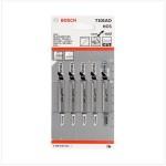 Panza pentru ferastrau vertical Clean for Wood T 101 AO, 5 buc. 83 mm
