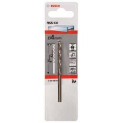 Burghiu Bosch pentru metal HSS-Co Standardline, DIN 338; 4 x 43 x 75 mm